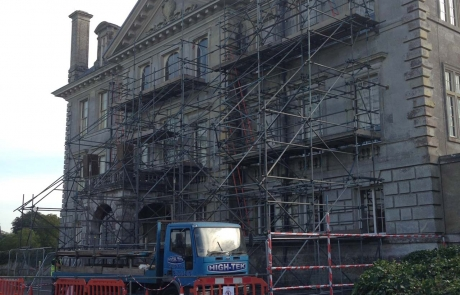 Historical Scaffolding Portfolio - Kingston Lacy