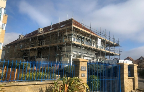 Residential Scaffolding Portfolio - Photo