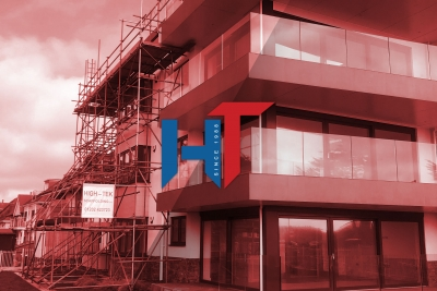 High-Tek Scaffolding Ltd - Slide Red Residential Dorset and Hampshire