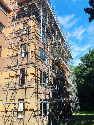 Selection of Jobs - High-Tek Scaffolding Ltd Portfolio